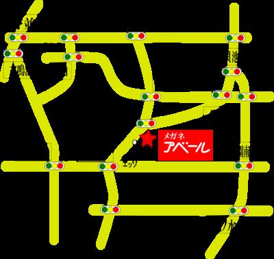 アベール地図